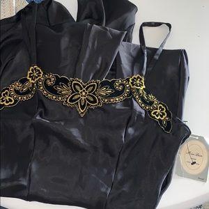 NWT Miss Dior lingerie maxi sleepwear